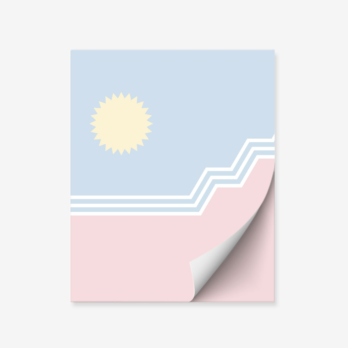 "SF Flag 4x5"" Notepad"