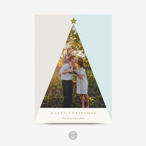 Christmas Holiday Photo Greeting Card