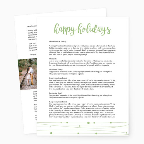 Holiday Letter 003