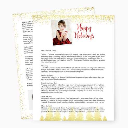 Holiday Letter 0306