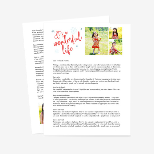 Holiday Letter 0337