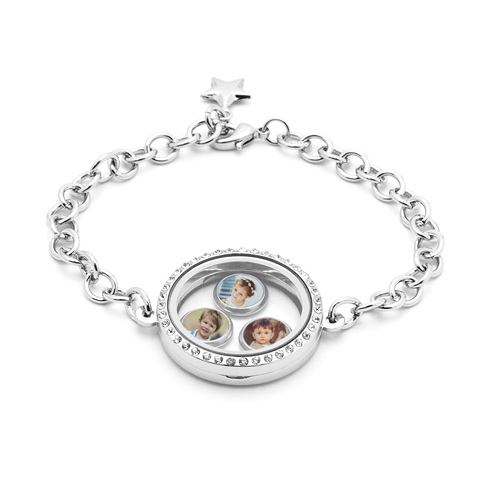 Floating Locket Bracelet