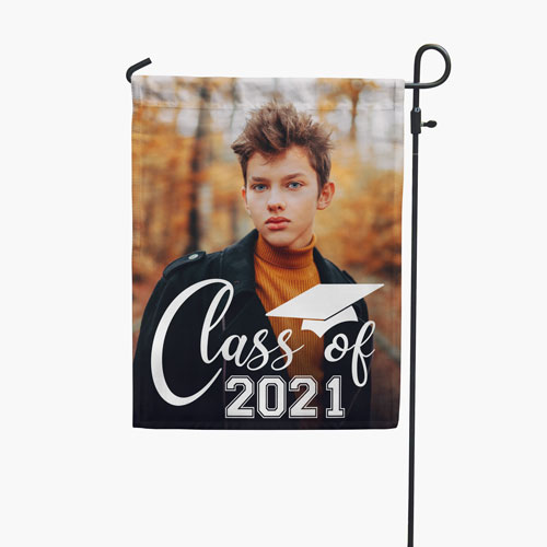Senior Strong Yard Flag