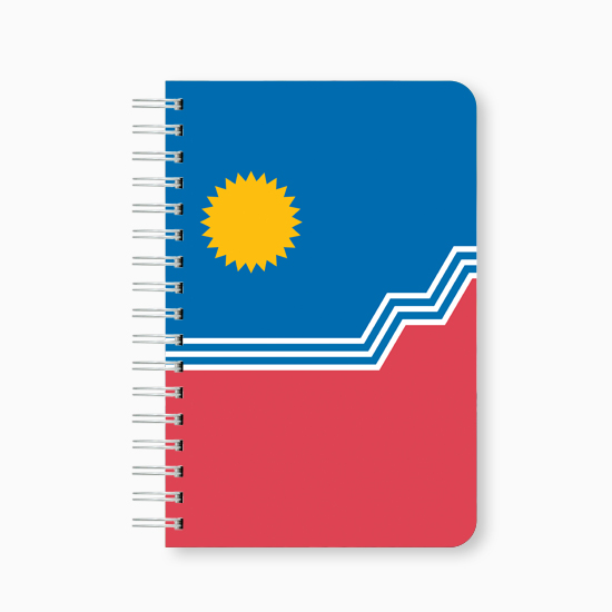 "SF Flag 6x9"" Notebook"