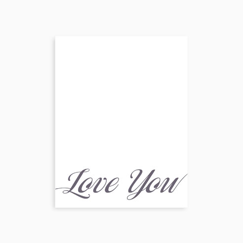 Note Card | Love You