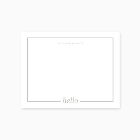 Note Card | Hello