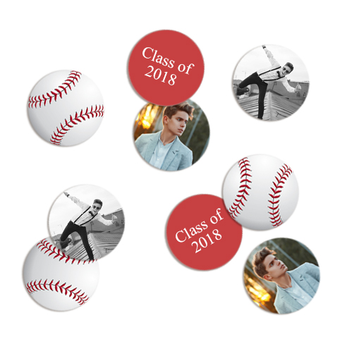 Photo Confetti - Sports Balls