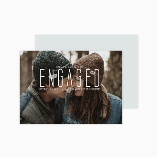 Save the Date | Engaged