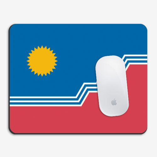 SF Flag Mousepad