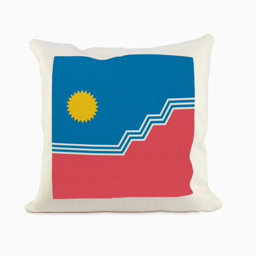 SF Flag Pillow Sham