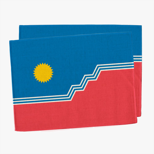 SF Flag Placemats (Set of 2)