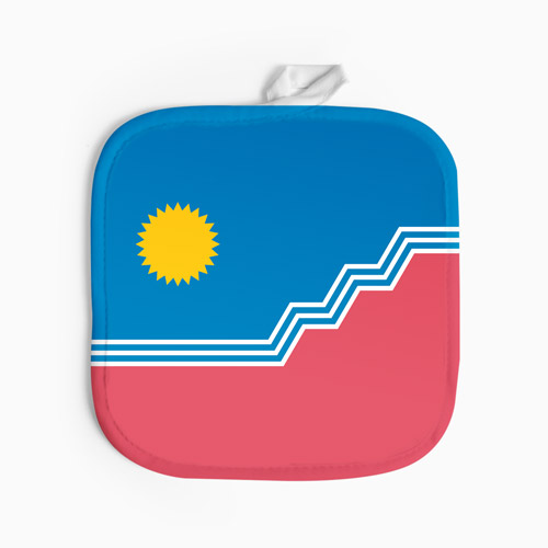 SF Flag Potholder