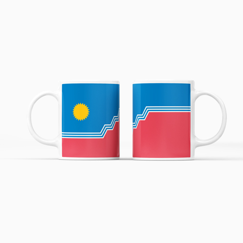 SF Flag Ceramic Mug