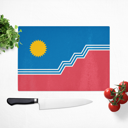 "SF Flag 16x12"" Cutting Board"