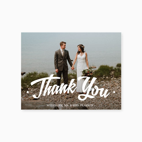 Thank You | Arched