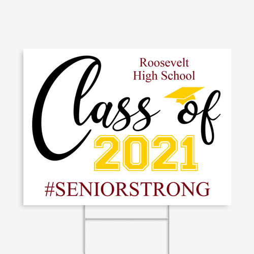 Senior Strong Yard Sign